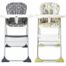 Joie Mimzy Snacker Highchair Lightweight Folding Toddler/Baby Feeding BNIB