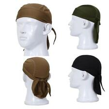 Outdoor Quick Dry Sweat Beanie Cap Cycling Pirate Hat Sports Headwear Helmet