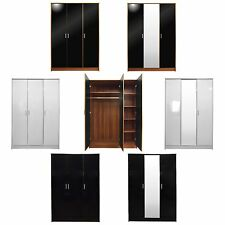 New High Gloss 3 Door Wardrobe Bedroom Furniture