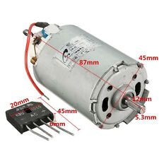 AC220V Rectifier 10000RPM DC Motor High Power 300W Permanent Magnet Motor