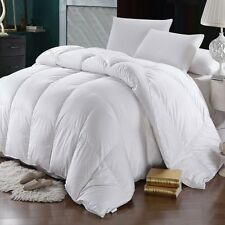 White 600TC Goose Down Oversized Comforter - 700FP - Winter Weight - ALL SIZES