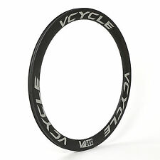 VCYCLE 20H 24H Carbon 700C Rim Road Bike Wheel 50mm Width 23mm Clincher