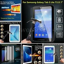 9H Tempered Glass Screen Protector Cover Film For Samsung Galaxy Tab & Phone