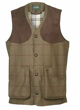 Mens Le Chameau Redbone Tweed Waistcoat - all sizes - New
