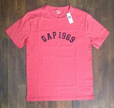 NEW NWT GAP Mens Red GAP 1969 Graphic T Shirt Sizes M XL $20