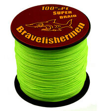 Hot Spectra Green 100-1000M 6-300LB Super Strong PE Dyneema Braided Fishing Line