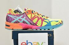 New Womens Asics Gel Noosa Tri 9 FLASH YELLOW Size 11 turquoise berry stability