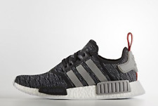 Adidas NMD R1 Glitch Camo Core Black Grey Red PK Runner Boost Nomad BB2884