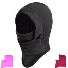 Thermal FLEECE BALACLAVA HOOD POLICE Cap SKI MASK Hat Scarf Neck Warmer Snood