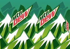 12/12 oz. cans of Mountain Dew Soda Beverage Pop---Pick One