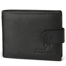 New Mens Wallet Leather ID Credit Card Holder Clutch Bifold Coin Purse
