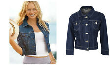 New Look YES YES Denim Jeans Spring Crop Jacket Top 6-14 Spring Cover Up Shop