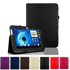 "PU Leather magnet Folio Cover Case Stand For Samsung Galaxy Note 10.1"" SM-N8000"