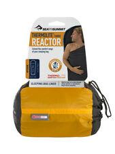 SEA TO SUMMIT THERMOLITE REACTOR SLEEPING BAG LINER REGULAR OR LONG SIZE COMPACT