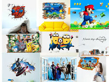 3D Pattern Wall Sticker Removable Mural Art Decals Vinyl Living Room Decor Selec