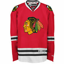 Chicago Blackhawks Reebok Premier Replica Home NHL Hockey Jersey red