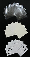 Pack of 5 - Bespoke Mounts / Picture Mounts / Frame Mounts + Backs + Clear Bags