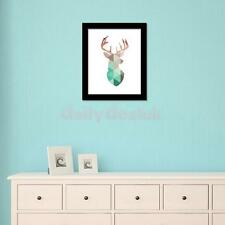 Canvas Modern Geometric Wall Art DIY Painting Picture Flamingo/Reindeer Print