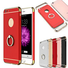 Fashion Hybrid Ring Holder Bracelet Stand Hard Back Skin Case Cover For iPhone 7
