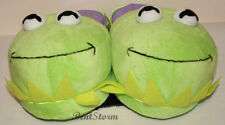 Disney KERMIT THE FROG MUPPETS MOST WANTED Adult Slippers PLUSH HOUSE SHOES S M