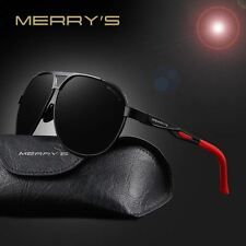 MERRY'S 2017 Top Quality Brand Designer Cool Polarized Mens Sunglasses Protect A