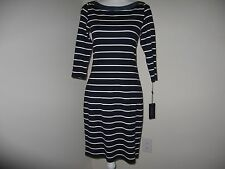 Tommy Hilfiger Striped Shift Dress for Woman Size 4 NWT $129