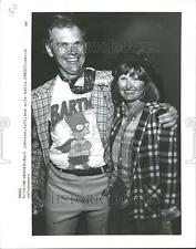 1990 Press Photo Bart Johnson Katie - RRV87017