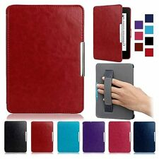 For Amazon Kindle Folio Slim Magnetic Leather Smart Wake Up Sleep Case Cover 1pc