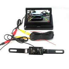 E-best 4.3inch foldable TFT LCD monitor & 17pcs LED Night Vision Car Rearview