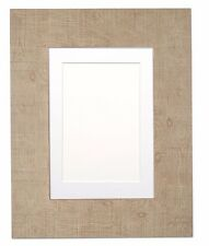 Wide Shabby Chic Rustic  Picture Photo Frame Instagram Square With Mount Natural