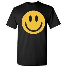 Smiley Face Sarcasm Humor Smiley Graphic Cool Happy Gift Funny Novelty T Shirts