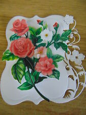 TONIC Balustrade in Bloom - Floral Lacy Die Cuts Frame-Background any colour B
