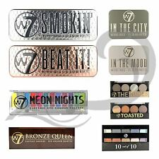 W7 Nude Eyeshadow Palette Tin Neon Bright Eyes Bronze Smokey Eye Make Up