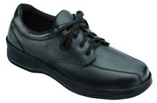Lake Charles - Orthofeet - 701 - Diabetic Shoe - Black - Laces - Insoles