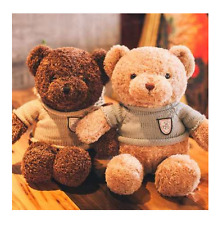 Plush toy stuffed doll animal ted bear teddy dress T-shirt silk scarf gift 1pc