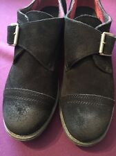 VERY VOLATILE LOS ANGELES EMERSON BLACK SUEDE WOMEN'S OXFORDS - NWOB NEW SHOES!