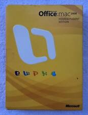 Microsoft Office 2008 Mac Home and Student Edition  w/ Product Key