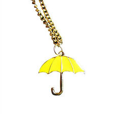 How I Met Your Mother HIMYM Yellow Umbrella Pendant necklace
