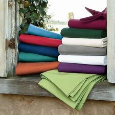 Luxurious Solid Color 6 pc Bed Sheet Set 1000 Thread Count Egyptian Cotton