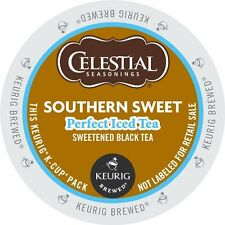 Keurig Brewer Tea K Cups- Celestial Southern Sweet Iced Tea (12 or 24 Count)