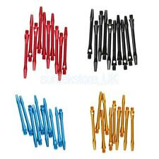 10 Pieces 53mm 2BA Thread Anodised Aluminium Re-Grooved Dart Stems Dart Shafts