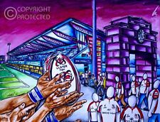 Ulster Rugby Northern Ireland - Art Print From My Painting - Signed and Numbered