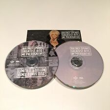 Greatest Hits My Prerogative by Britney Spears CANADA LIMITED EDITION 2 CD