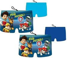 BOYS KIDS CHILDS OFFICIAL PAW PATROL SWIMMING TRUNKS SHORTS HOLIDAY