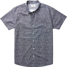 Billabong Dark Sunrise Mens Shirt Short Sleeve - Navy All Sizes