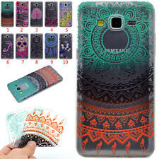 Soft TPU Pattern Colorful Ultra-Thin Slim Case Cover For Samsung Galaxy Bumper