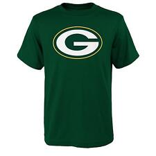 YOUTH Green Bay Packers NFL primary logo T Shirt Green