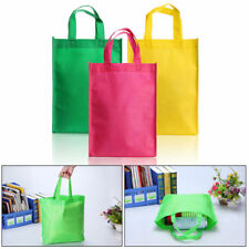 Reusable Non Woven  Bags Grocery Shopping Tote Gusset Bags Long Double Handle
