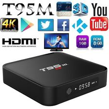 Android5.1 Quad Streamer 1080P Core T95M 4K OTT TV Box MXQ Kodi XBMC Fully Media