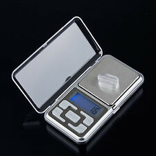 Digital LCD Electronic Jewelry Pocket Portable Gram Weight Balance Scale Optimal